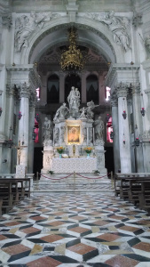 Altar at St. Mary's Cathedral